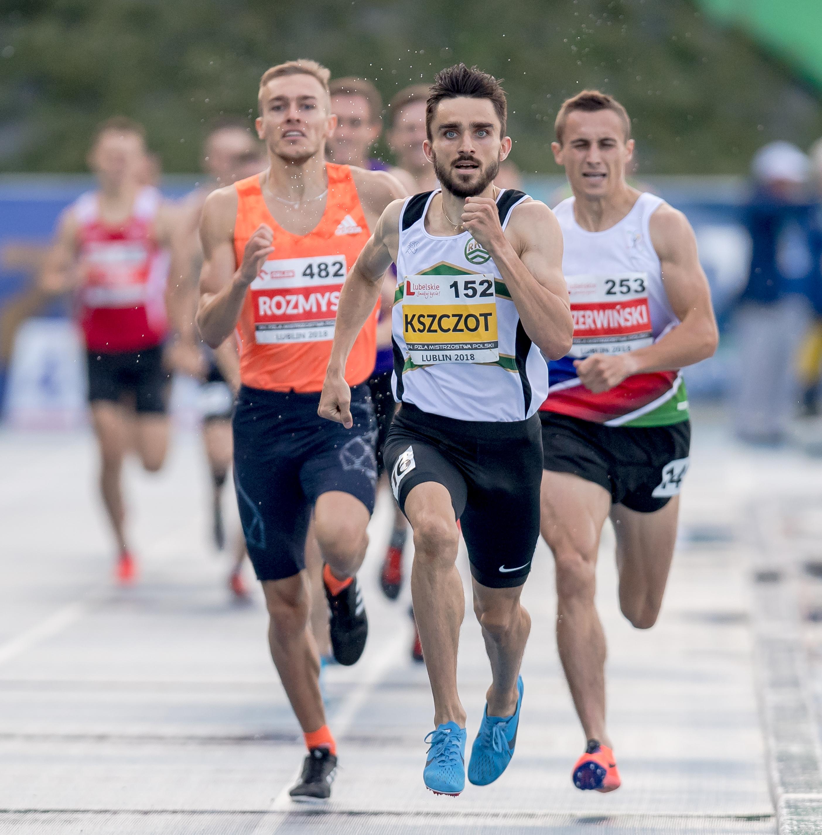 94 Mistrzostwa Polski Seniorow. Lekkoatletyka. Lublin 2018.07.20
